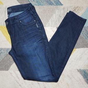 Silver Suki Jeggings Skinny Jeans 31 x 31